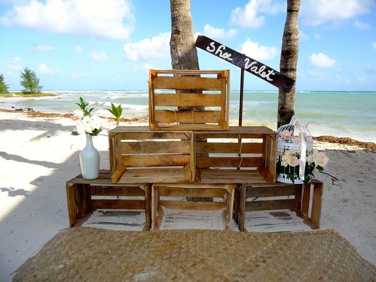 CBS121 Beach Weddings Riviera Maya Shoe Valet / Boda Valet de Zapatos en la playa