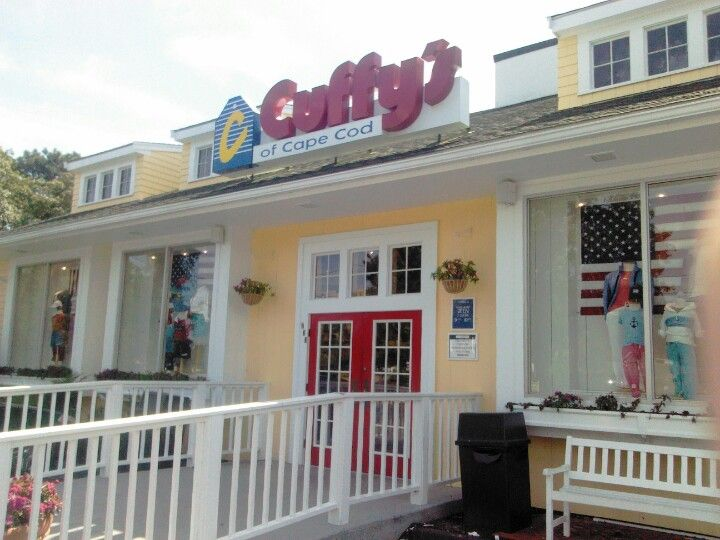 Cuffy's in West Dennis, MA - because where else will you buy sweatshirts from?