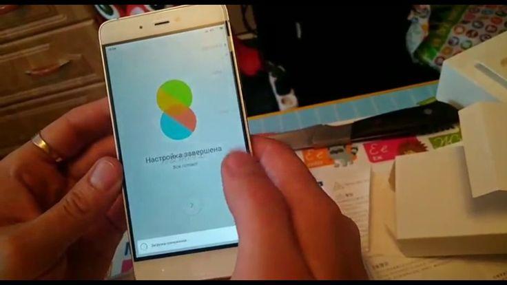 Xiaomi mi5s распаковка заводской телефон с глобальной прошивкой
