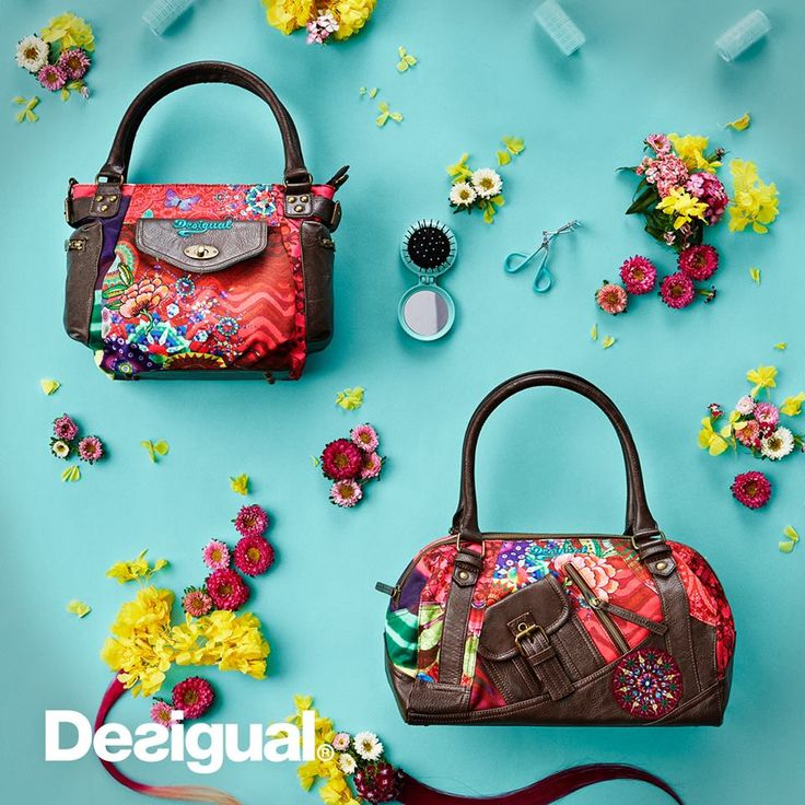 Angel has dozens of new Desigual bags from the Spring-Summer 2016 collection. angelvancouver.com