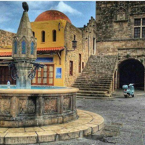 "The Medieval Old Town of Rhodes . By @inna_myz @Wonderful.Greece #WonderfulGreece #Wonderful_Greece #Greece #Grèce #Grecia #Griechenland #Греция #希腊 #ギリシャ #الإغريق"" #Ελλάδα #Hellas ¤ . #Rhodes #Dodecanese #Ροδος #Δωδεκανήσα . @Greek_Blue #GreekBlue #WonderfulGreece_inna_myz"
