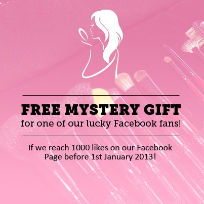 Free Mystery Gift for one of our lucky Facebook Fans.