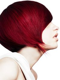 : Dark Red Hair Color: