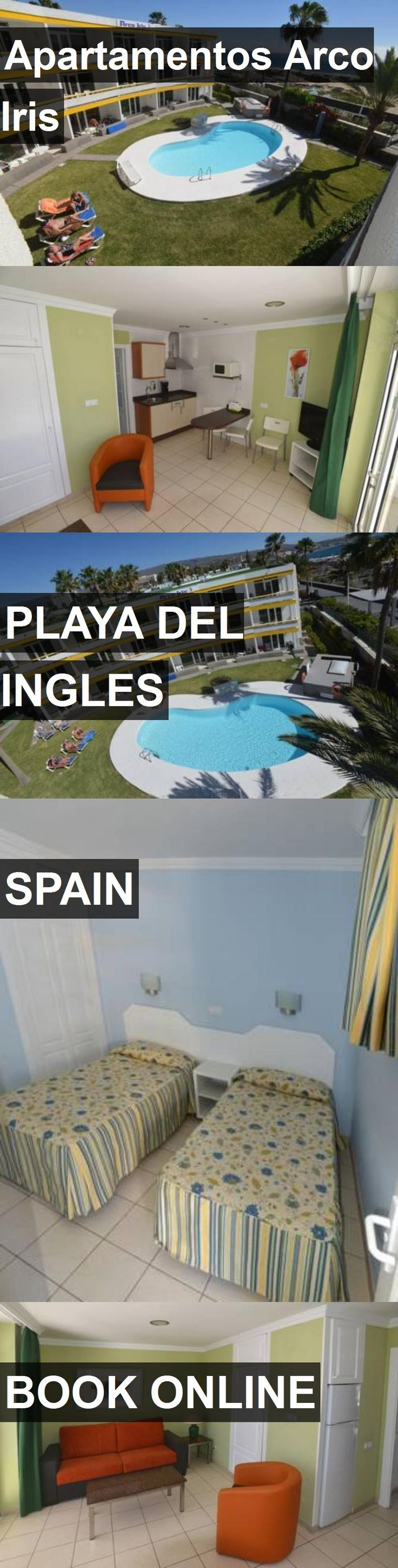 Hotel Apartamentos Arco Iris in Playa del Ingles, Spain. For more information, photos, reviews and best prices please follow the link. #Spain #PlayadelIngles #travel #vacation #hotel