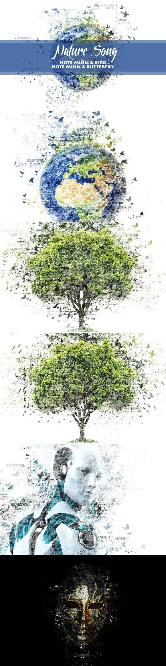 Nature Song Photoshop Action V01. Photo Effect Photoshop Actions. $11.00