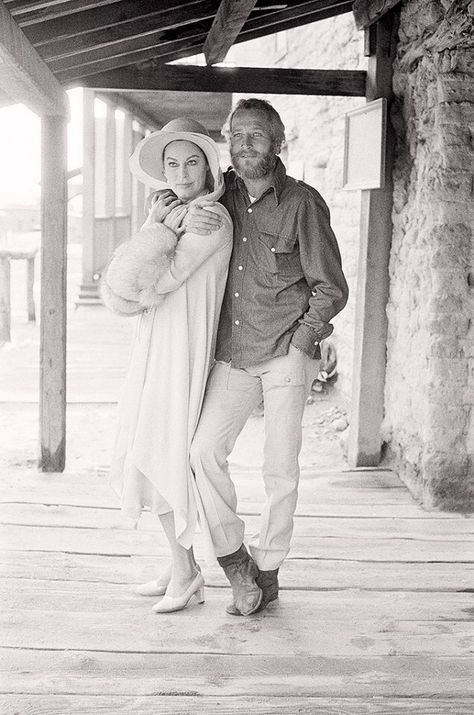 Ava Gardner e Paul Newman, 1972. Photo: Terry O'Neill