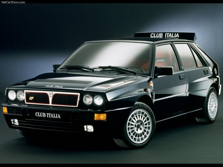 1992 Lancia Delta Integrale, the famous rally car and also the car of my childhood dreams :)