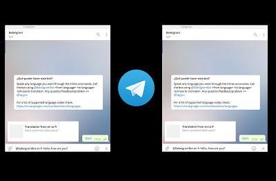 Google traductor se ha integrado en Telegram   Telegram tiene una enorme cantidad de bots y canales realmente útiles. Allí es donde tenemos el canal deCompuTekni por ejemplo y donde podemos usar bots que ayudan a transformar la app de mensajería en una plataforma de trabajo relamente práctica. Hoy comentaremos un bot bastante práctico:t.me/BabelgramBot sistema que nos permite recibir traducciones gracias a la inteligencia de Google Translate integrada allí para que sea sencillo pedir una…