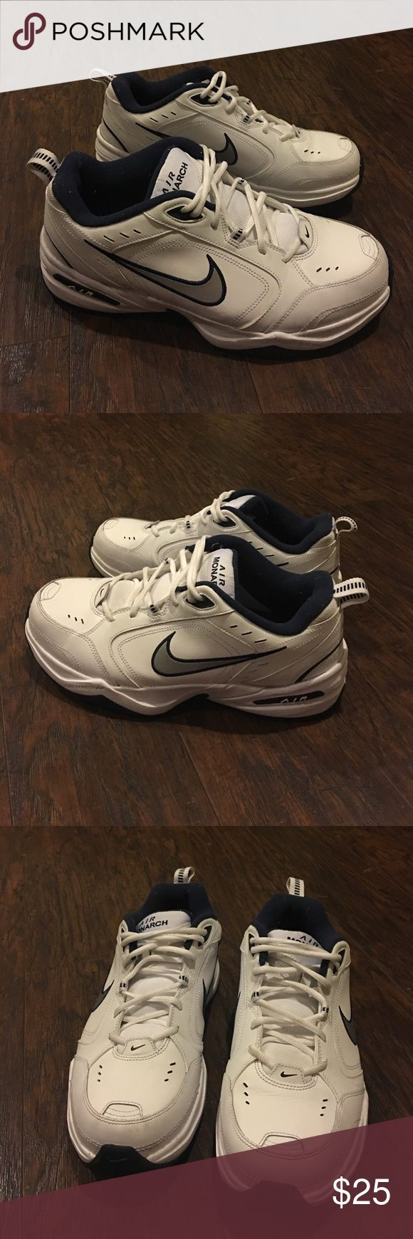 Auth Nike Air Monarch sneakers tennis shoes 11 Authentic Nike Air Monarch sneakers tennis shoes 11 good condition wore a few times only new gel insoles added Nike Shoes Athletic Shoes