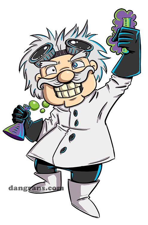 mad scientist cartoon images | Mad Scientist's Lab by dsoloud
