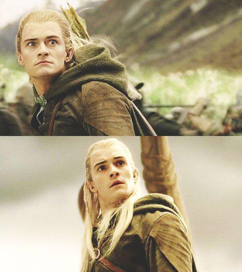 Legolas funny expressions yet again!