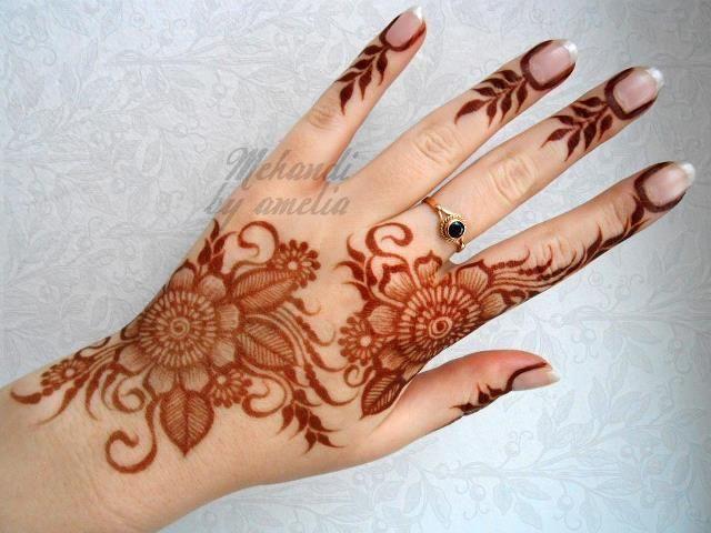 #mehendi #henna #hand #art #design #pretty