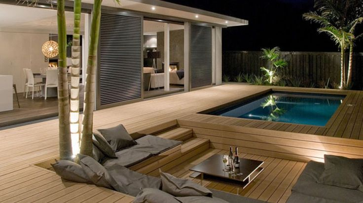 Decking with seating