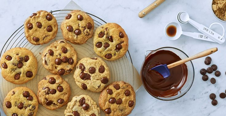 Ghiradelli chocolate chip cookies - use 6TBS of AF to replace eggs
