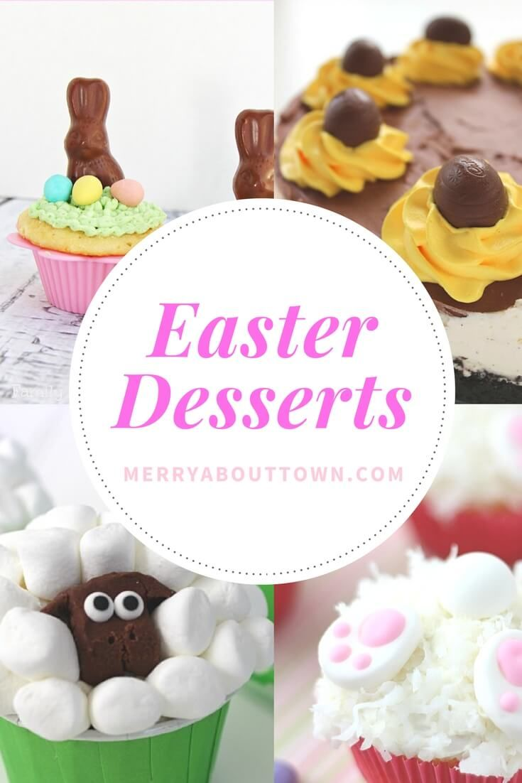 17 Fun and Fanciful Easter Desserts to make your celebration complete. Cute or not, they are all delicious!