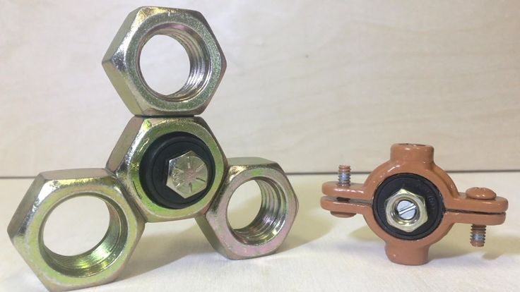 DIY METAL FIDGET SPINNERS | How To Make Hand Spinner Fidget Toys