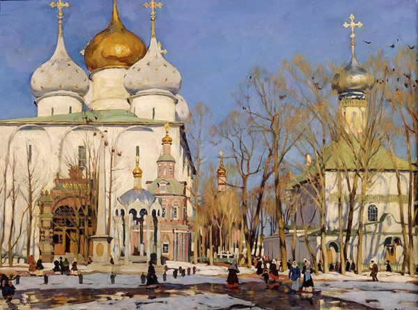 Константин Юон: живопись, биография художника