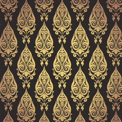 14 Best Gold Theme Wallpaper For Walls Images On Pinterest
