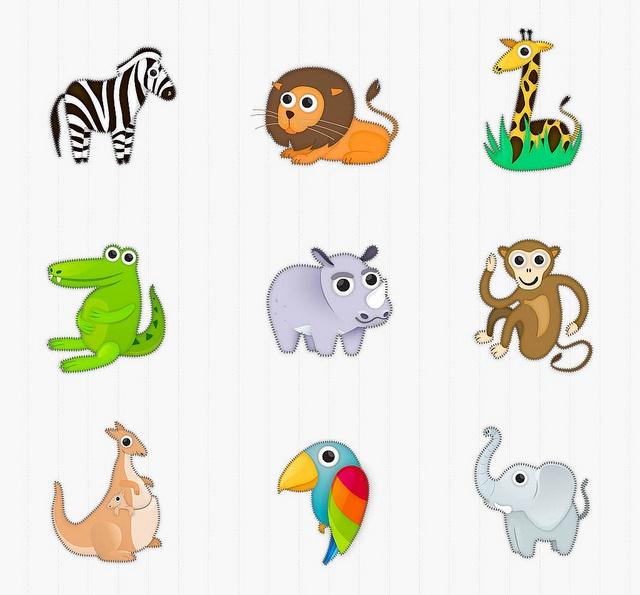 Memollow animals designing process
