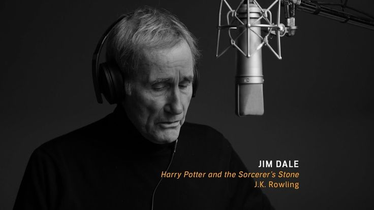"""#AudibleVoices: Jim Dale performs from """"Harry Potter and the Sorcerer's ..."""