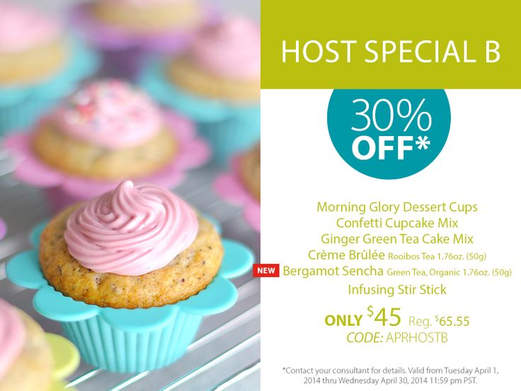 Host a Steeped Tea Party and receive amazing discounts!