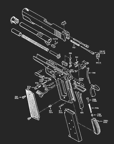 This is how batman see's your gun, hah.