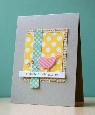 My Paper Secret - colors: Colors Sm, Birthday Card, Bird Cards, Cards Birds, Card Ideas, Paper Secret