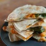 Quesadillas+de+Camote+y+Espinacas+/+Sweet+Potato+and+Spinach+Quesadillas