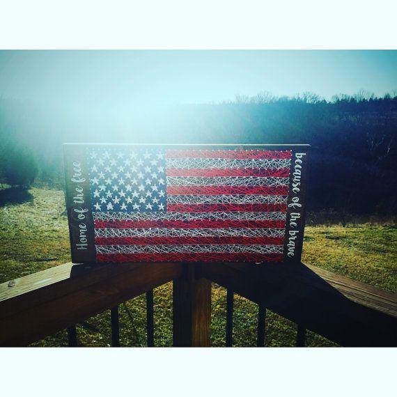 American Flag string art, american flag, american flag wall art, american flag…