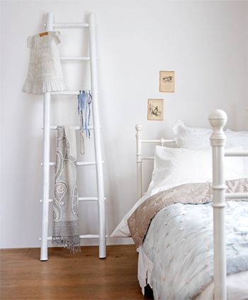Houten ladder in je interieur vtwonen wooninspiratie bedroom pinterest tes ladder and doors - Decoratie interieur trap ...