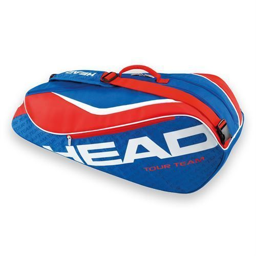 Bags 20869: *New* Head Tour Team 2016 Combi 6 Pack Blue/Red Tennis Bag BUY IT NOW ONLY: $49.0