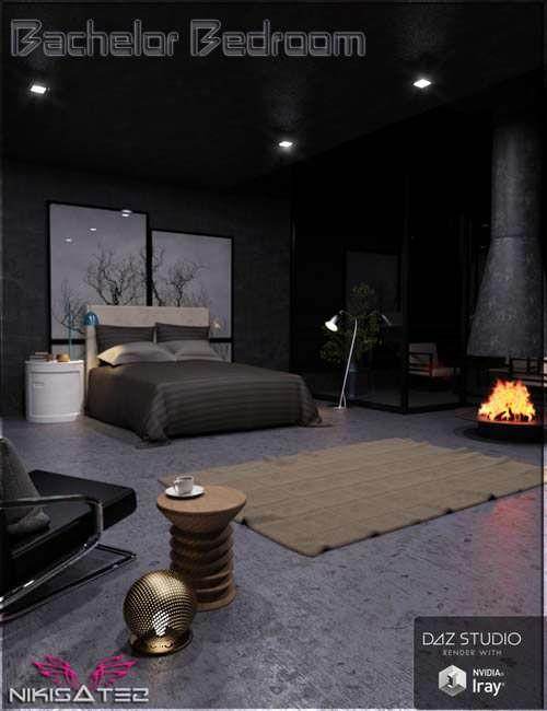 3D Model Bachelor Bedroom Free Download http://ift.tt/2mUDPN3
