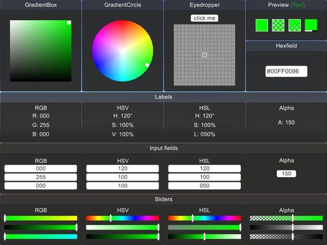 Advanced Color Picker for Unity UI #sponsored#Tools hsv#rgb