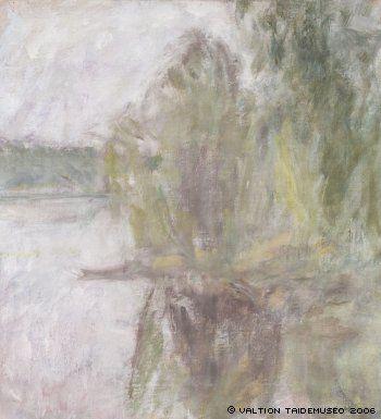 Ellen Thesleff, Järvimaisema, 1937.