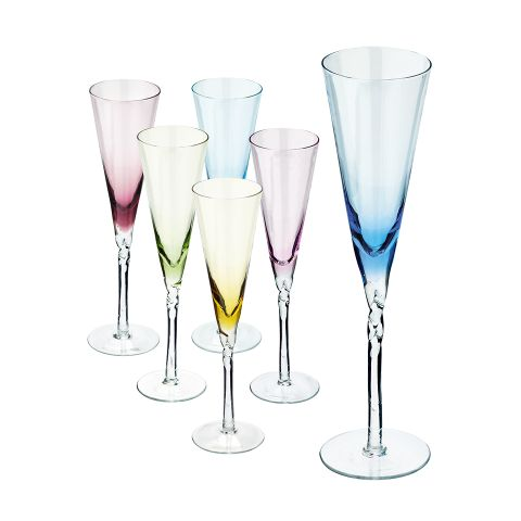Champagneglas hos Guldfynd