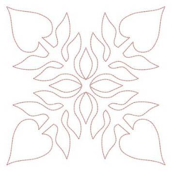 Hawaiian Quilt Blocks 1 (4x4)