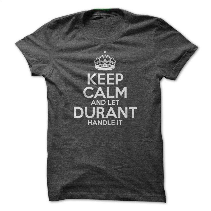 Keep Calm And Let Durant Handle It T Shirts, Hoodies, Sweatshirts - #boys…
