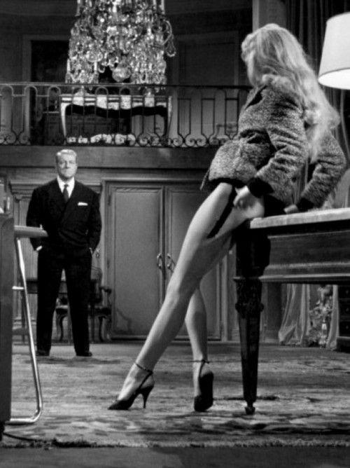 Sexy classic style ♥Film Screenshot, Longer Legs, A Mini-Saia Jeans, En Cas, Cas De, Jeans Gabin, Beautiful Secret, De Malheur, Brigitte Bardot