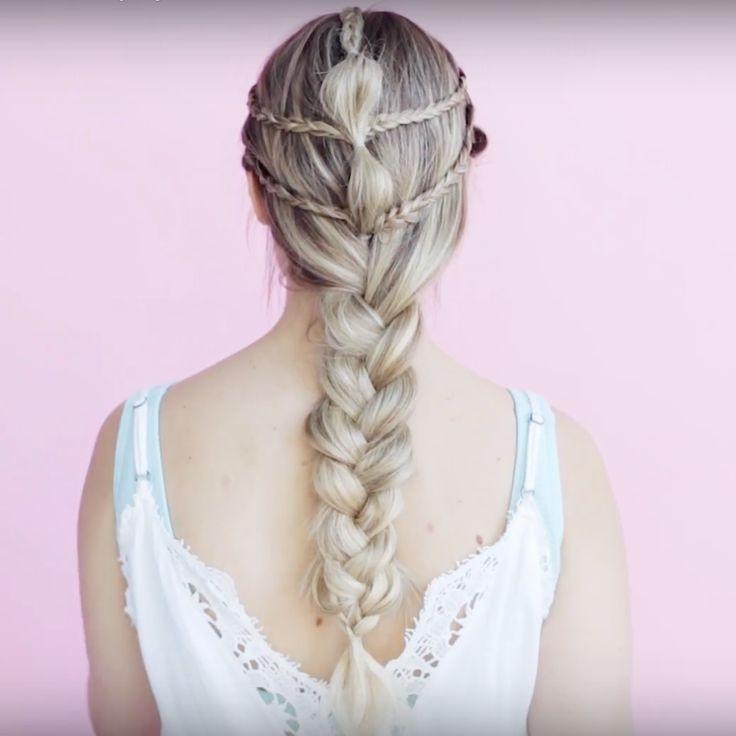 Kayley Melissa's Khaleesi-inspired Elegant Braid Tutorial