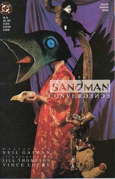 sandman #40 - Dave McKean