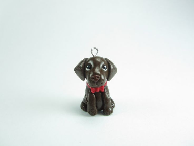 Chocolate Labrador Necklace - dog jewelry, chocolate lab,miniature animal, dog lover gift labrador retriever for her pet charm pendant by LittleShopOfClays on Etsy https://www.etsy.com/listing/243714279/chocolate-labrador-necklace-dog-jewelry