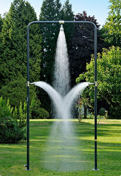Outdoor showers from Designerzeit – Interactive Modern Art