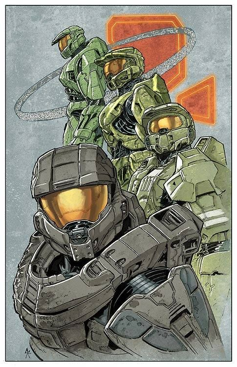 Did you know that there is such a thing as a full-size adult Halo Master Chief…