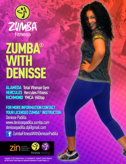 8 best zumba images on pinterest zumba backgrounds and tapestry zumba flyer design for the lovely denisse padilla toneelgroepblik Gallery