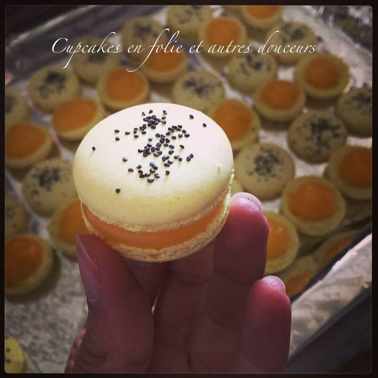 Macarons Citron/Pavot