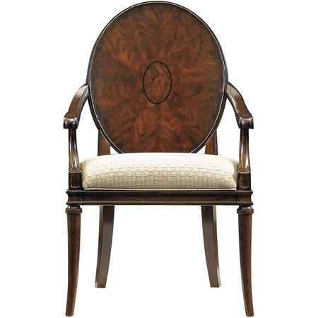 I pinned this Avalon Heights Arm Chair from the Stanley Furniture event at Joss and Main!  Now this is what I call a chair! it is so classy! I love it! I would love to be able to have 8 of them in a dinning room someday!
