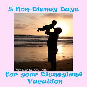 Love Our Disney: 5 Non-Disney Days for your Disneyland Vacation