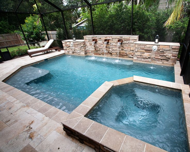 Find This Pin And More On Classic Pool Design By Tampabaypools.  Classic Pool Designs