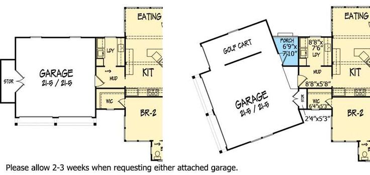 Plan 26666GG: Popular Mountain Home Plan   ***LOVE THIS PLAN, WITH THE FIRST ATTACHED GARAGE OPTION WITH MUDROOM***