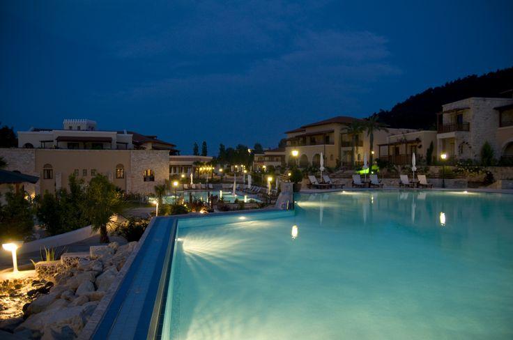 Aegean Melathron Hotel at a summer night :)